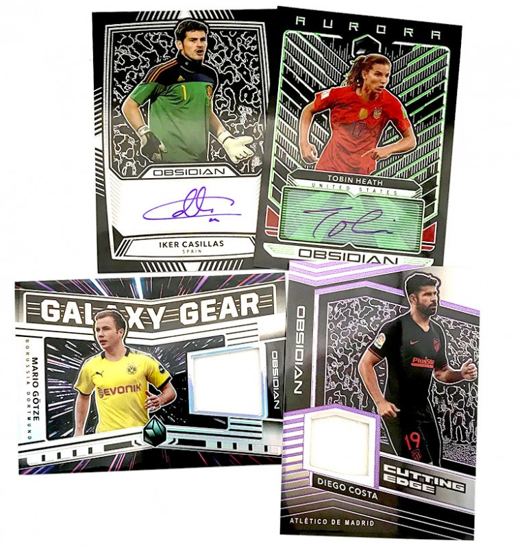 Obsidian Soccer 2019-20 - Autogramm- & Memorabilia-Cards