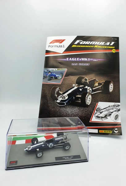 Formula 1 Rennwagen-Kollektion 79: Dan Gurney (Eagle MK1)