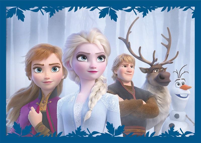 Disney: Die Eiskönigin 2 - Cristal Edition - Sticker und Cards - Beispiel Sticker Elsa und Anna