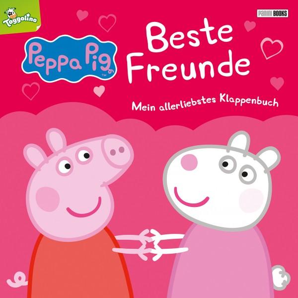 Peppa Pig: Beste Freunde – Mein allerliebstes Klappenbuch Cover
