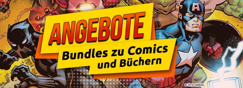 Angebote - Bundles zu Comics und Büchern