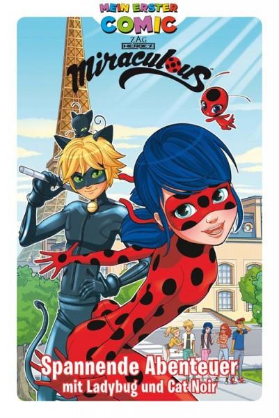 Mein erster Comic - Miraculous: Spannende Abenteuer mit Ladybug und Cat Noir Cover