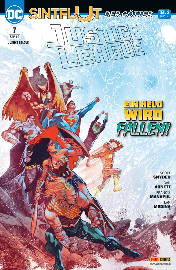 Justice League 7: Sintflut der Götter 2