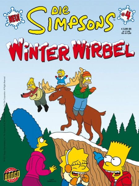 Simpsons: Winter-Wirbel 4