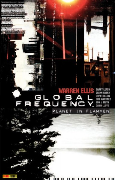 Global Frequency 1: Planet in Flammen