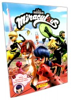Miraculous Ladybug Sticker und Trading Cards Album Cover