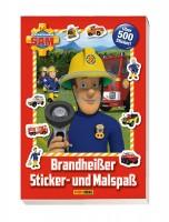 Feuerwehrmann Sam - Brandheißer Sticker- und Malspaß