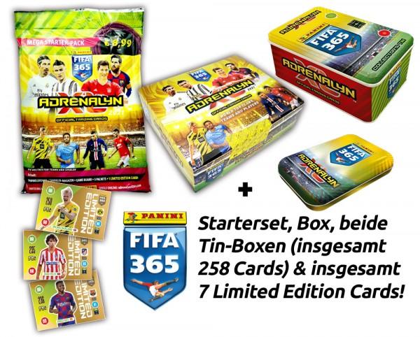 Panini FIFA 365 Adrenalyn XL 2021 Kollektion - Shootingstar-Bundle