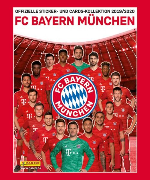 FC Bayern München: Offizielle Sticker- und Cards-Kollektion 2019/2020 - Tüte