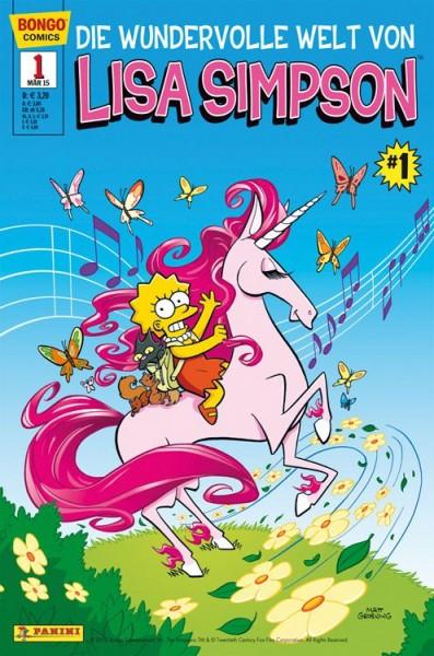 Simpsons Comics präsentiert: Lisa Simpson 1