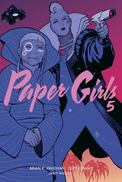 Paper Girls 5 Cover