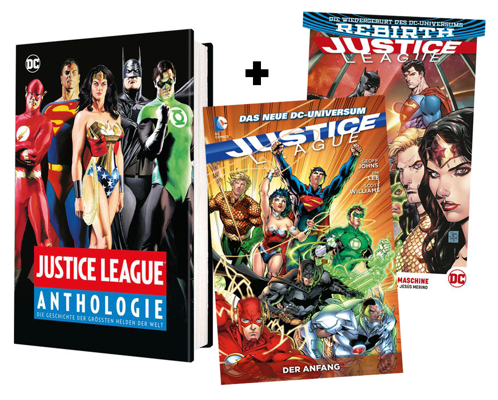 Justice-League-Einsteiger-Bundle