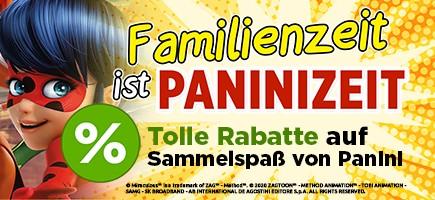 Familienzeit ist Paninizeit Tolle Rabatte auf Sammelspaß von Panini