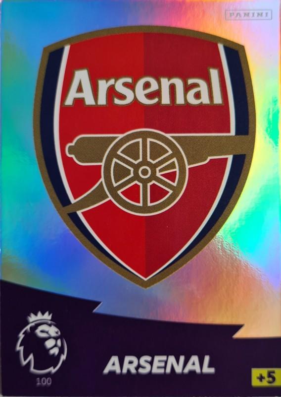 Panini Premier League Adrenalyn XL 2020/21 - Team Logo - Arsenal London