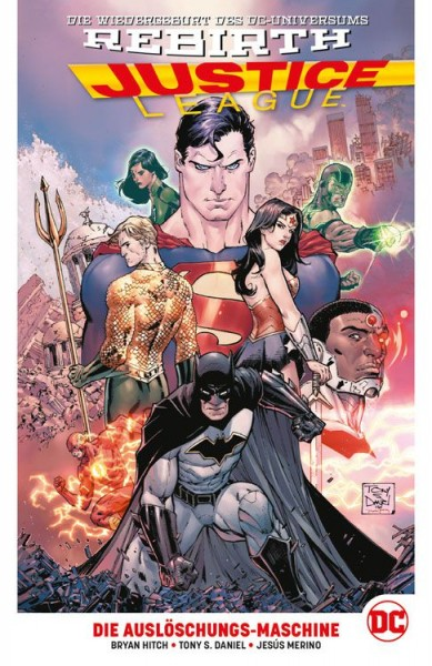 Justice League 1: Die Auslöschungs-Maschine Hardcover