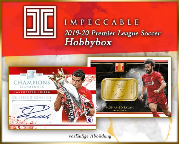 Panini Impeccable Soccer Premier League 2019/20 Trading Cards - Hobbybox