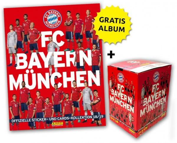 FC Bayern München: Offizielle Sticker- und Cards-Kollektion 2018/2019 - Megabundle