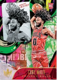 NBA Court Kings 2019/20 Trading Cards - Rookies II - Coby White