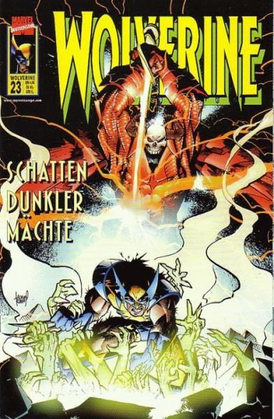 Wolverine 23 - Schatten dunkler Mächte