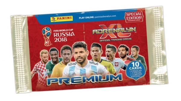 2018 FIFA World Cup Russia Adrenalyn XL - Premium Tüte