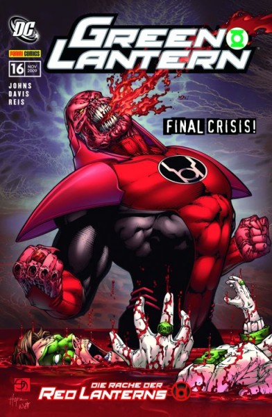 Green Lantern Sonderband 16: Die Rache der Red Lanterns