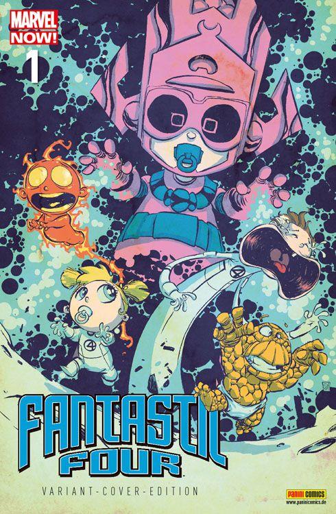 Fantastic Four 1 Marvel-Baby-Variant...