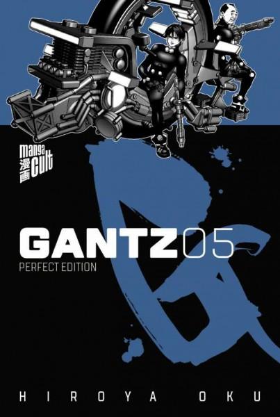 Gantz 5 Cover