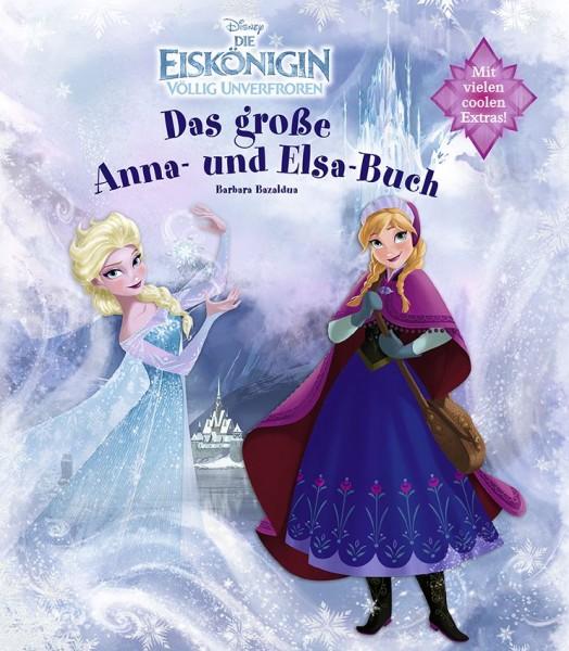 Disney: Die Eiskönigin - Scrapbook (Anna- und Elsa Buch)