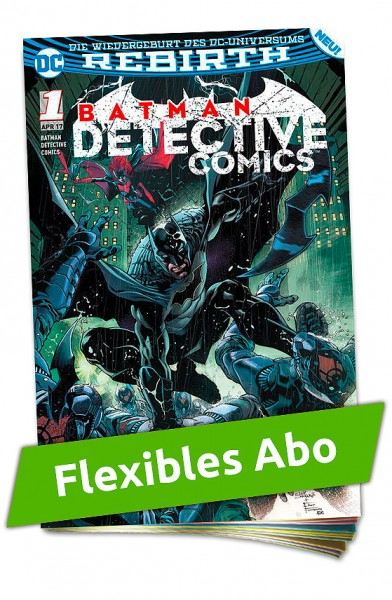 Flexibles Abo - Batman Detective Heft