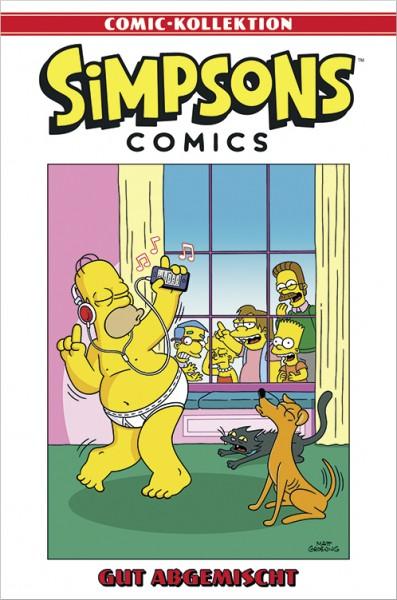 Simpsons Comic-Kollektion 45: Gut abgemischt Cover