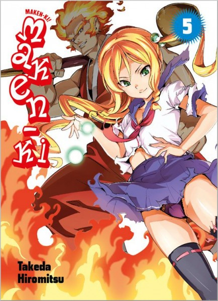 Maken-Ki 5 Cover