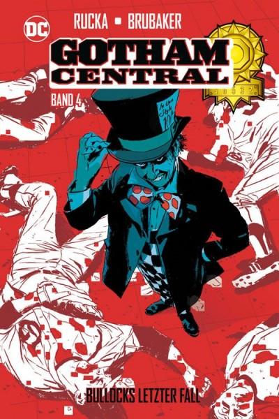 Gotham Central 4: Bullocks Letzter Fall Hardcover