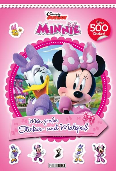 Disney Junior: Minnie – Mein großer Sticker- und Malspaß Cover