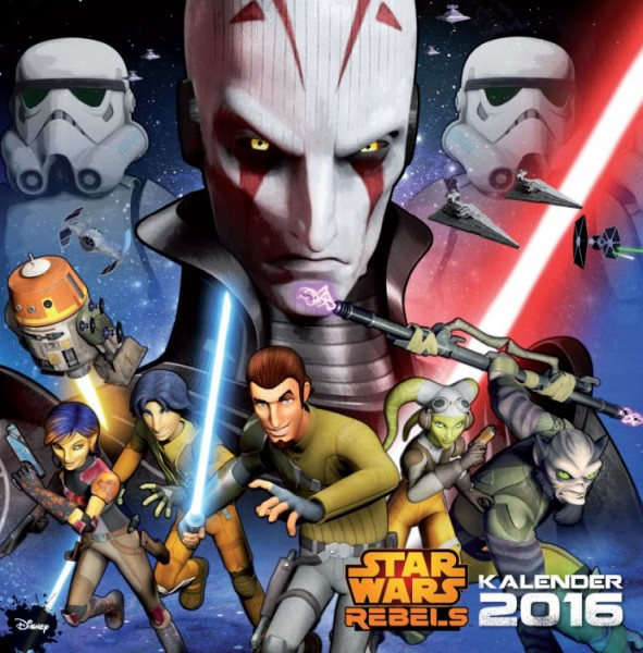 Star Wars: Rebels - Wandkalender (2016)