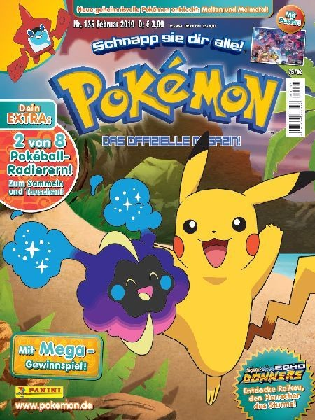 Pokémon Magazin 135
