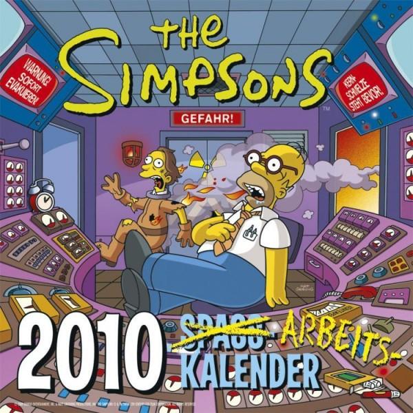 Die Simpsons - Wandkalender (2010)