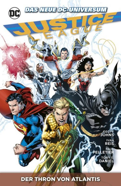 Justice League 3: Der Thron von Atlantis