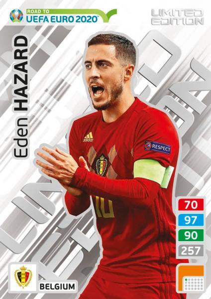 Road To UEFA Euro 2020 Adrenalyn XL - LE-Card Eden Hazard/Bel