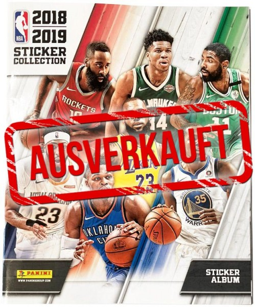 NBA 2018-2019 Stickerkollektion - Album - ausverkauft