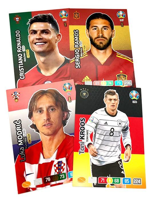 Uefa Euro 2020 Adrenalyn Trading Cards Karten