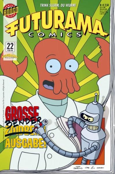 Futurama Comics 22