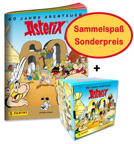 Asterix: 60 Jahre Abenteuer - Stickerkollektion - Asterix-Bundle