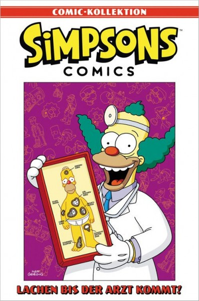 Simpsons Comic-Kollektion 23: Lachen bis der Arzt kommt Cover