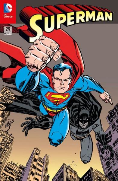 Superman 29 Variant (75 Jahre Batman) - Comic Action 2014