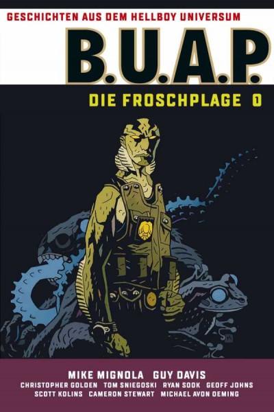 Geschichten aus dem Hellboy-Universum: B.U.A.P. - Die Froschplage 1 Cover