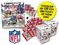 NFL 2020 Sticker & Trading Cards - Touchdown-Bundle