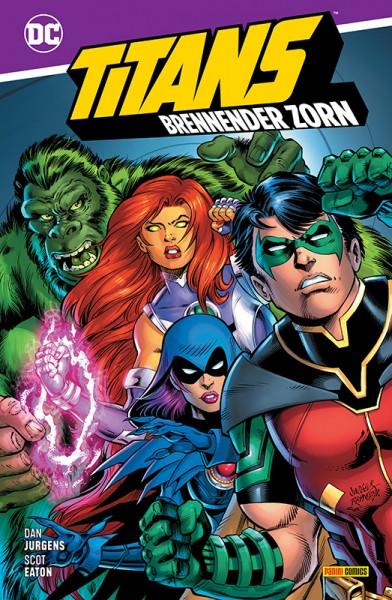 Titans: Brennender Zorn Cover