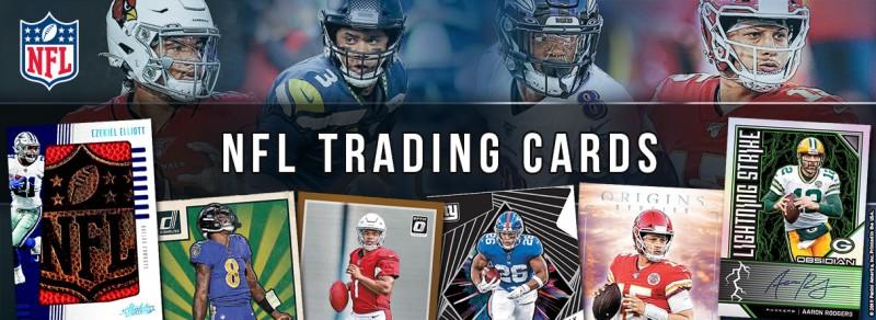NFL Trading Cards - Allgemeiner Banner