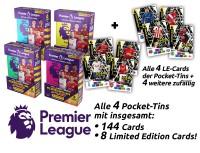 Panini Premier League Adrenalyn XL 2020/21 Kollektion – Pocket-Tin-Bundle