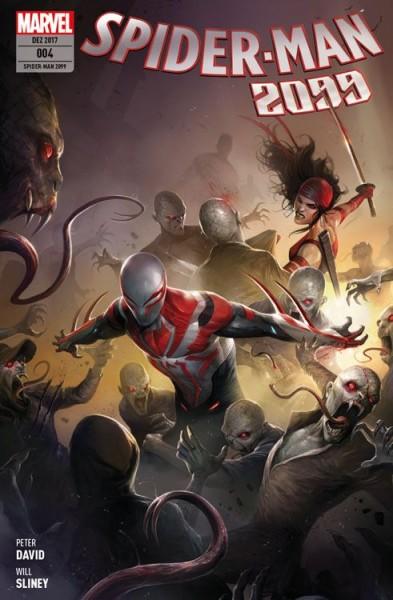 Spider-Man 2099 4: Der Tod und Elektra